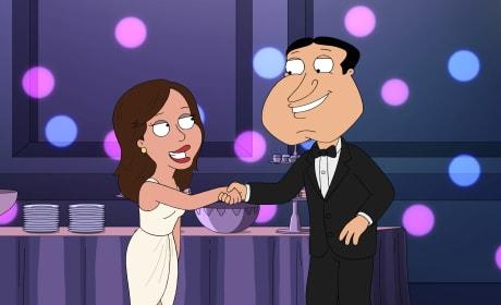 Quagmire Has a Daughter - Family Guy