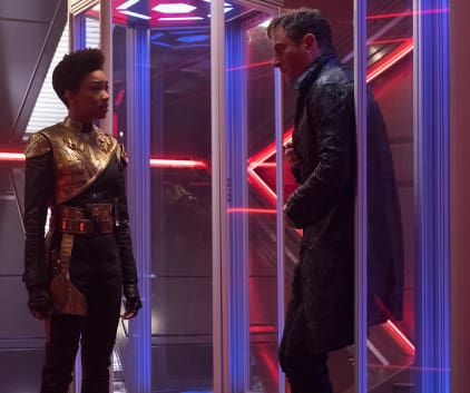 Captain and Rebel - Star Trek: Discovery