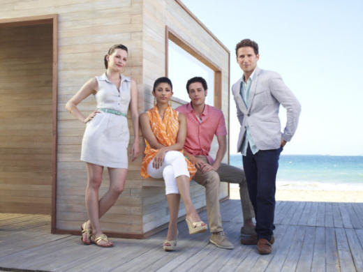 Royal Pains Cast Picture