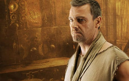 Ray Stevenson in Rome