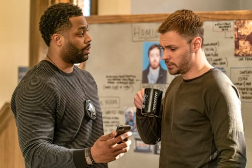 Ruzek and Atwater Work the Case - Chicago PD Season 4 Episode 18