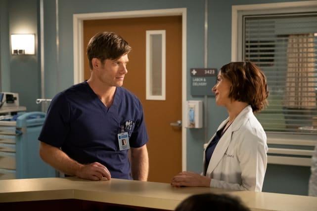 Amelia and Link  - Grey's Anatomy Season 15 Episode 25
