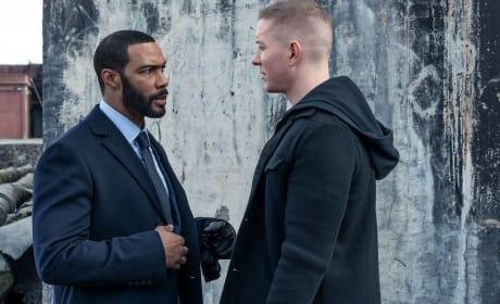 Tense Exchange - Power Season 5 Episode 4