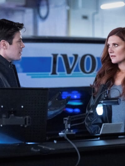 Barry and Nora - The Flash Season 7 Episode 7