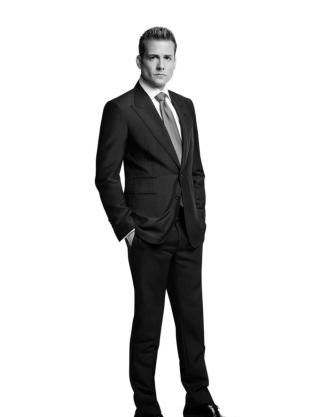 Gabriel Macht as Harvey Specter - Suits