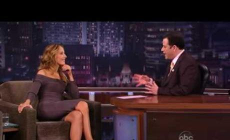 Kim Raver on Jimmy Kimmel