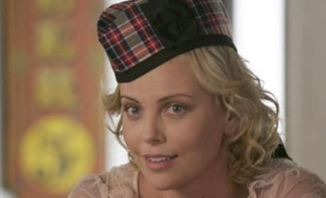 Charlize Theron on Arrested Development