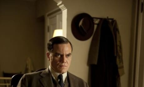 Michael Shannon as Agent Van Alden