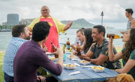 Celebratory Meal - Hawaii Five-0 Season 8 Episode 20
