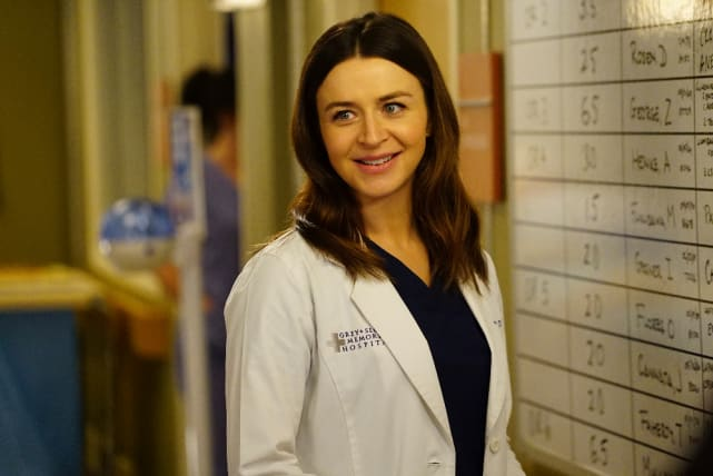 Happy Amelia - Grey's Anatomy Season 13 Episode 22