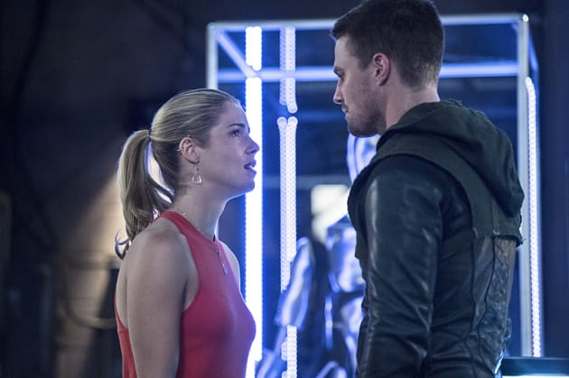 Deep Conversation - Arrow Season 3 Episode 2