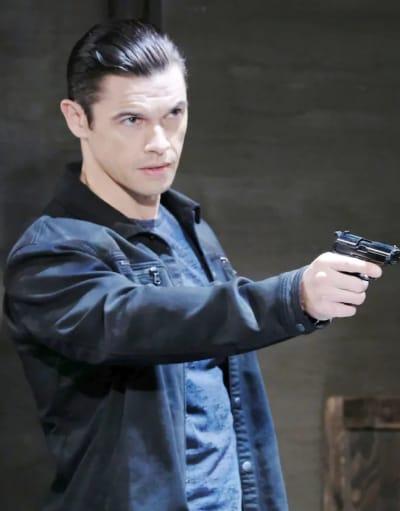 Xander's Got a Gun - Days of Our Lives