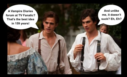 The Vampire Diaries Forum: Live!