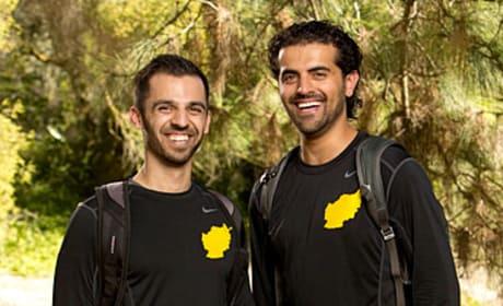 Leo Temory and Jamal Zadran