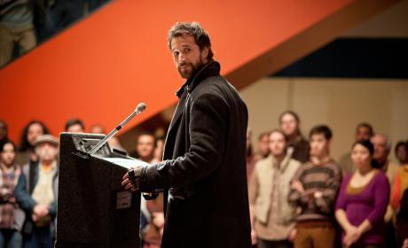 Tom at the Podium