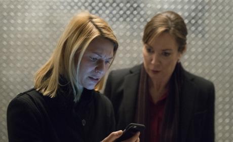 Carrie and Keane in Danger - Homeland
