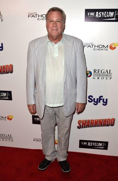 John Heard Attends Sharknado Event