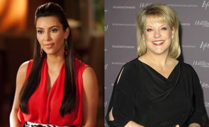 Kim Kardashian and Nancy Grace Book Returns to Drop Dead Diva