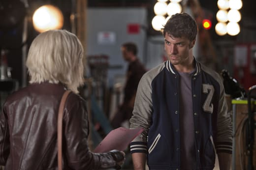 "Broody ""Zombie High"" actor and Liv - iZombie Season 2 Episode 10"