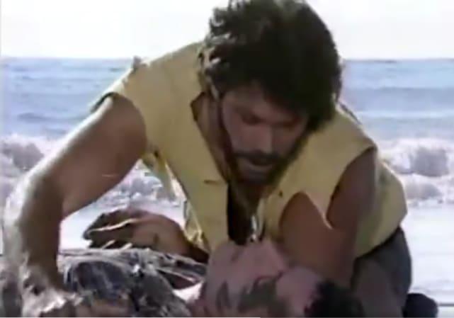 Roman dies in bos arms