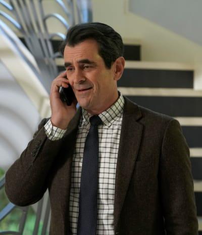 Phil on the Phone - Modern Family Season 10 Episode 14