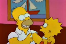 Homer and Lisa Bond