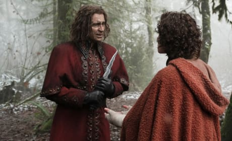 Father, son, and dagger - Once Upon a Time Season 6 Episode 13