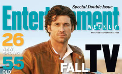 Patrick Dempsey, Grey's Anatomy Grace Cover of Entertainment Weekly