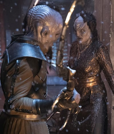 L'Rell in a Fight - Star Trek: Discovery Season 2 Episode 3
