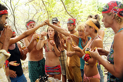 The Merged Tribe Celebrates