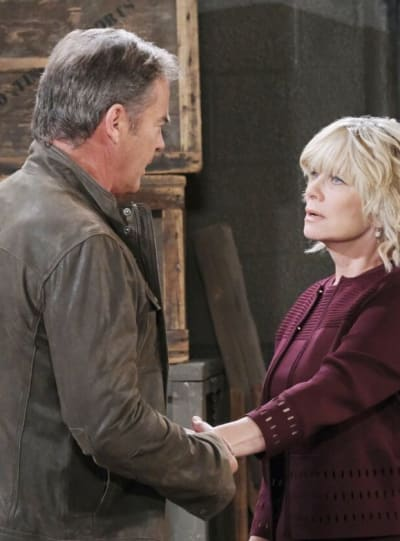 Justin Rescues Kayla - Days of Our Lives
