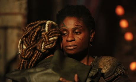 Indra and Her Daughter — The 100 Season 4 Episode 10