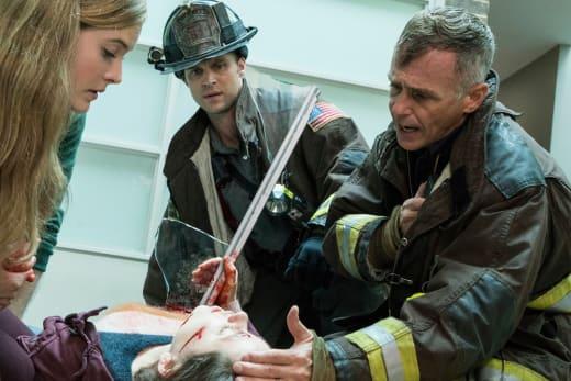 Hermann In The Field - Chicago Fire Season 5 Episode 6