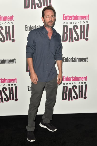 Luke Perry Attends EW Comic-Con Event