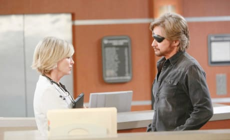 Kayla and Steve At The Hospital - Days of Our Lives