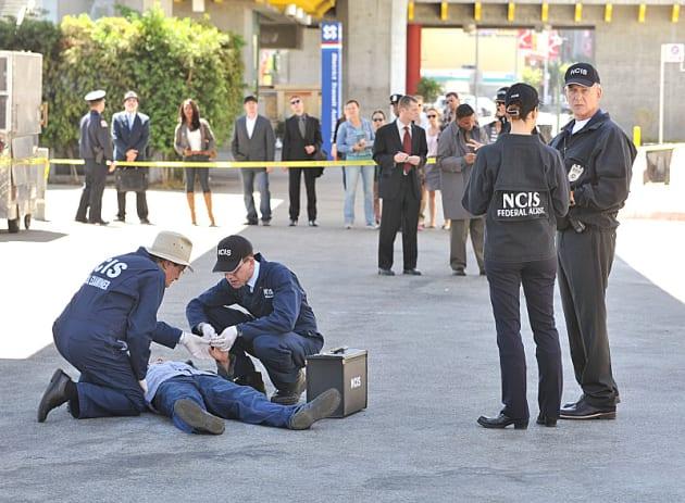 NCIS Crime Scene Investigation