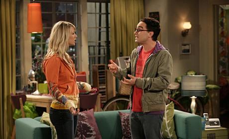 Penny and Leonard Talk