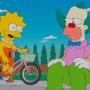 Lisa and Krusty