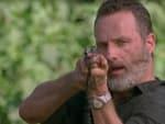 Rick Takes Aim - The Walking Dead