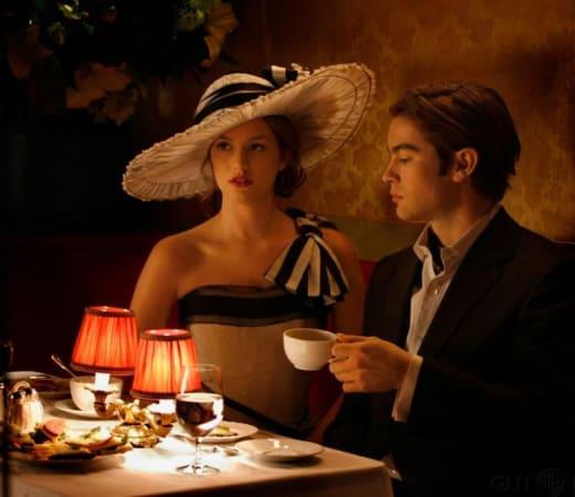 Dinner with Blair
