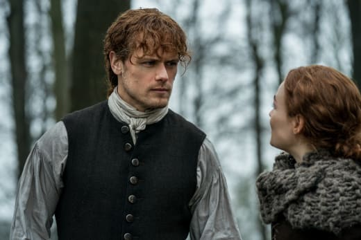 Angry Brianna - Outlander Season 4 Episode 10