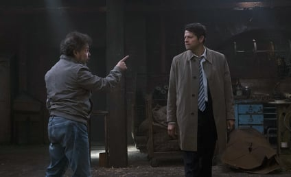 Supernatural Photo Preview: Don't Mess with Castiel