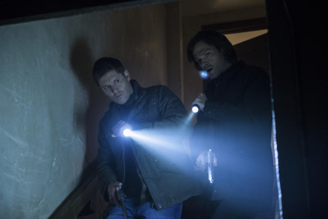 Time to go in the basement - Supernatural Season 12 Episode 18