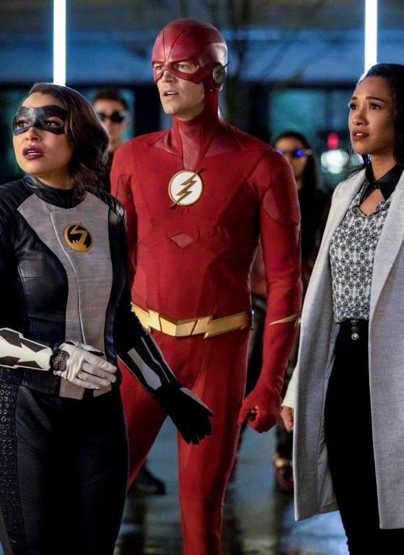 Team Flash Looks On