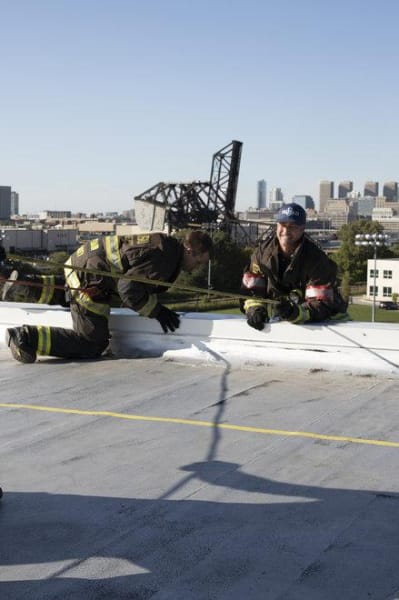 Severide and Casey - Chicago Fire Season 8 Episode 7