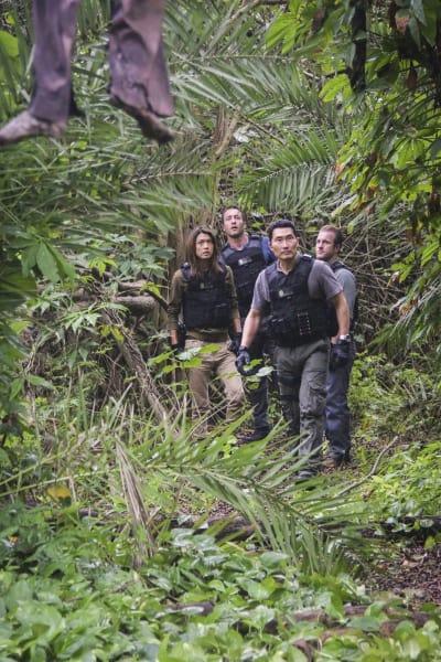 The Team Is Captured - Hawaii Five-0