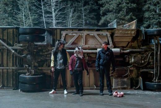 The Truck Tips Over - Fargo
