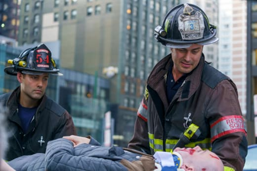Severide In The Field - Chicago Fire Season 5 Episode 8