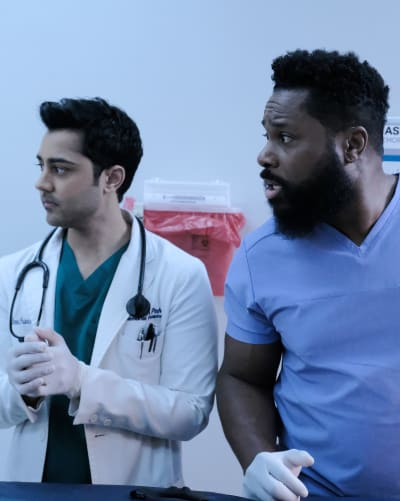 Team Abe - Tall - The Resident Season 2 Episode 17