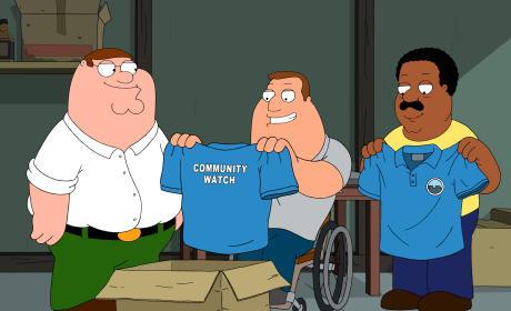 Neighborhood Watch - Family Guy